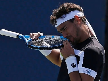 US Open 2017: Fabio Fognini ready to accept a possible Australian Open ban for his misdemeanour