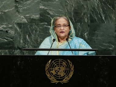 Bangladeshs Sheikh Hasina asks UNGA to create safe zones for Rohingyas, says Myanmar must stop ethnic cleansing