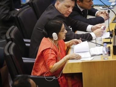 Sushma Swaraj at UNGA as it happened: Pakistan recognised as 'export factory for terror', says external affairs minister