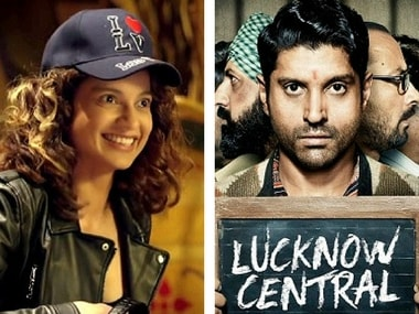 Simran and Lucknow Central. Images from Twitter.