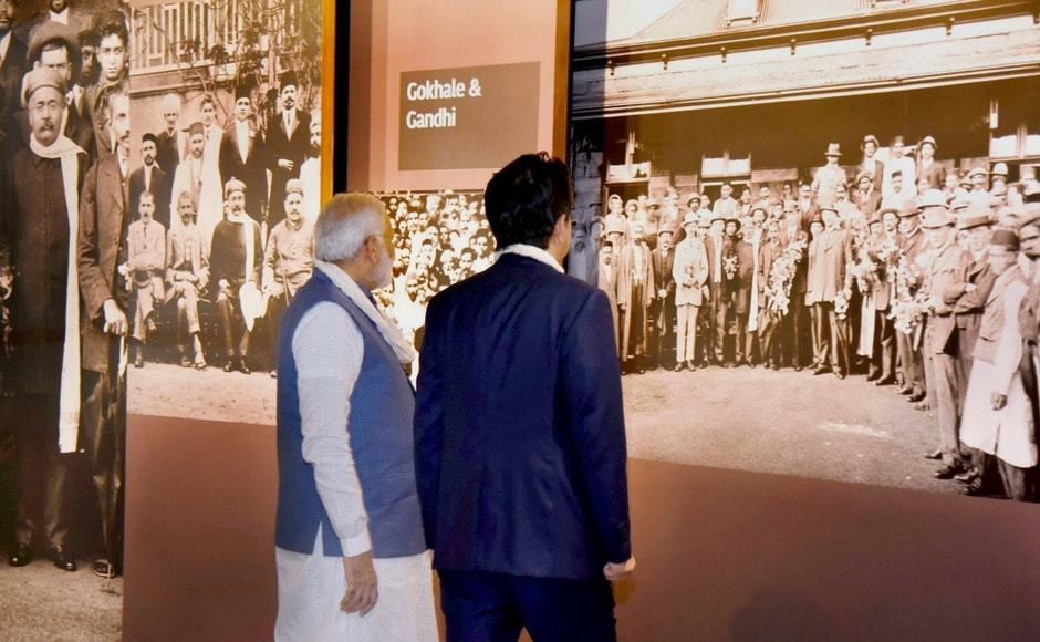 Dandi Kutir, which is named after the famous Dandi March led by Gandhi during India's freedom struggle was built to spread Gandhi's idea of people across lines of class, gender, age and community asserting a common right to slat itself. PTI