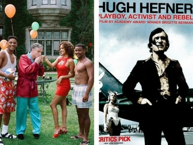 Hugh Hefner's unabashed on-screen appearances, from Sex and the City to The House Bunny