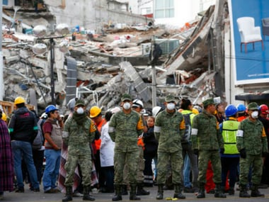 Strong 6.2 magnitude quake shakes Mexico City; no immediate reports of damage or casualties