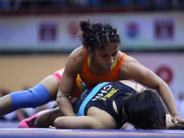 Asian Games 2018: Vinesh Phogat storms into 50kg wrestling event final; Sakhi Malik, Pooja Dhanda to fight for bronze