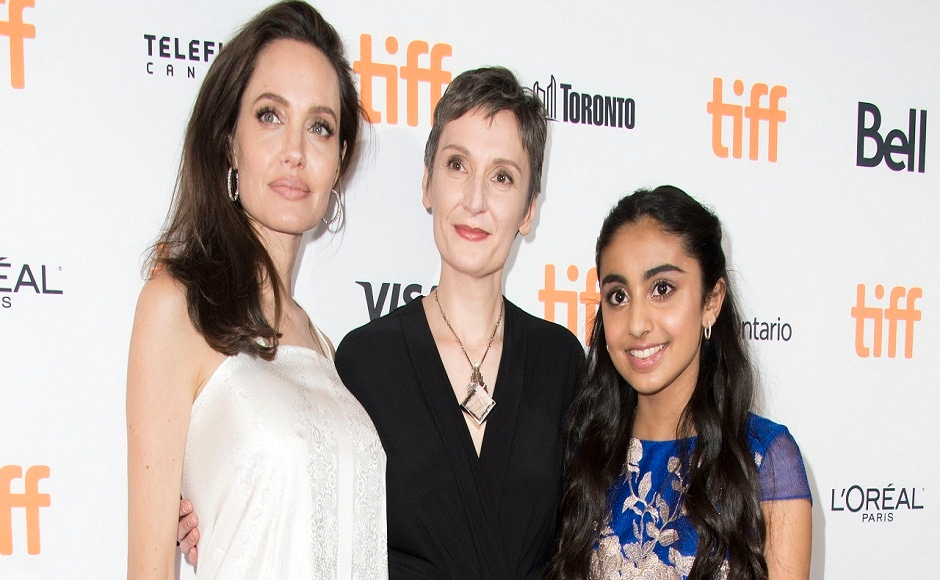 TIFF 2017: Angelina Jolie attends world premiere of Nora Twomey's