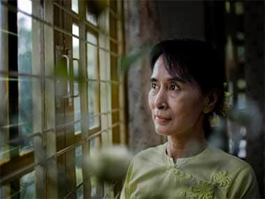 File image of Aung San Suu Kyi. Getty Images
