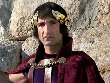 Barry Dennen as Pontius Pilate. Image from Twitter/ Ken Anderson.