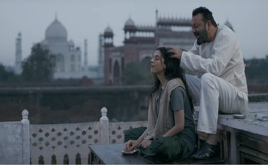 Omung Kumar's 2017 film, Bhoomi, presents the protective dashing dad who would do anything for his daughter's sake. The film is touted to be a revenge drama and features Sanjay Dutt and Aditi Rao Hydari in the role of a father and a daughter. Image courtesy: YouTube screengrab.