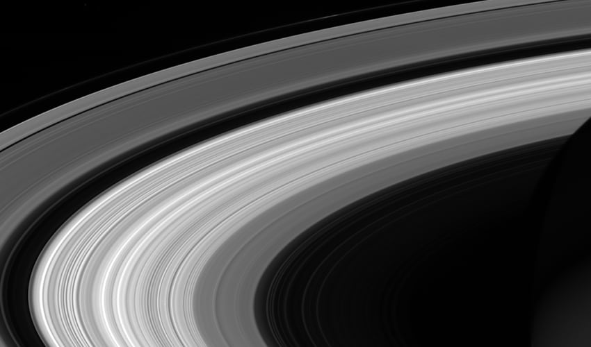 Final ringscape. Image: Cassini.