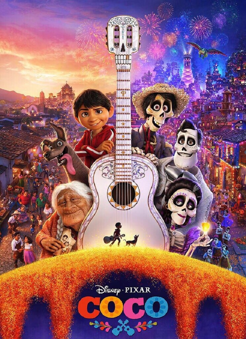 A poster for Pixar's Coco. Image from Twitter
