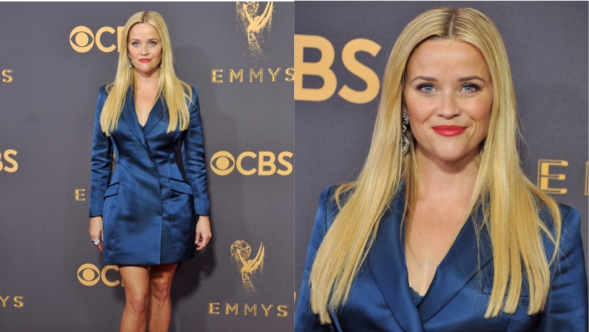 Reese Witherspoon at the 69th Primetime Emmy Awards. Image from Getty Images.