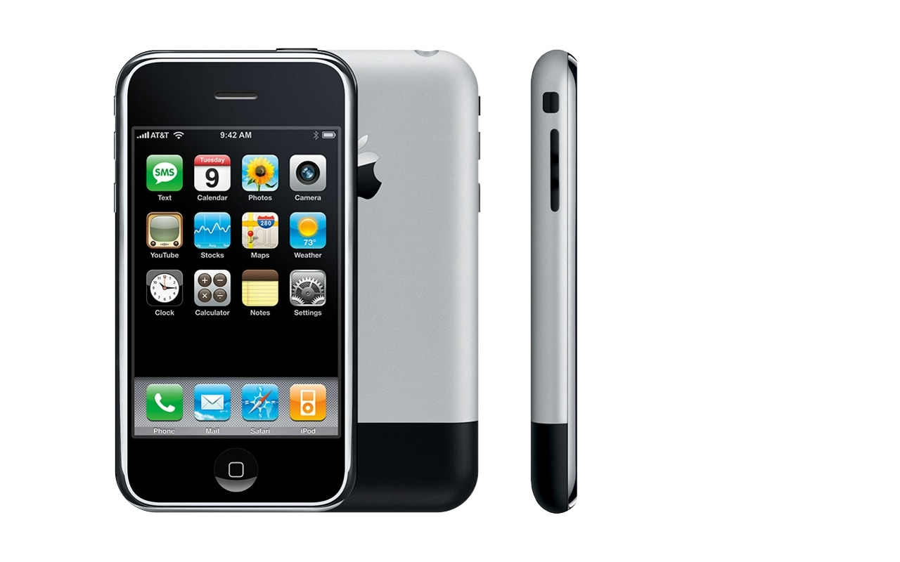 1 18 Apple Announced The Original IPhone In January 2007 Changing Landscape Of Smartphones Process