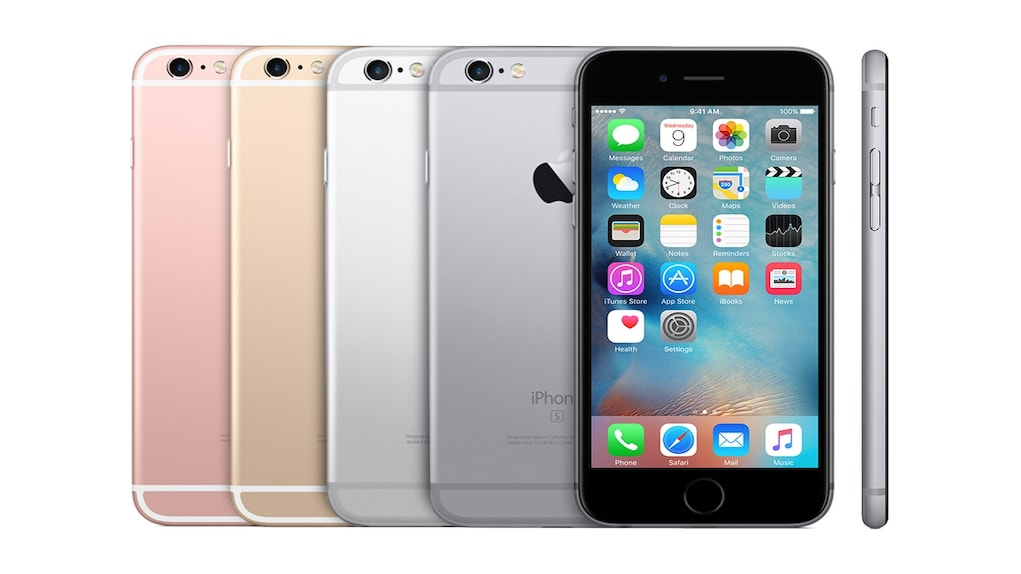iPhone 6S was launched in September 2015 along with the iPhone 6S Plus. The device marked an evolutionary upgrade over iPhone 6 to keep up with the market. Image: Apple.