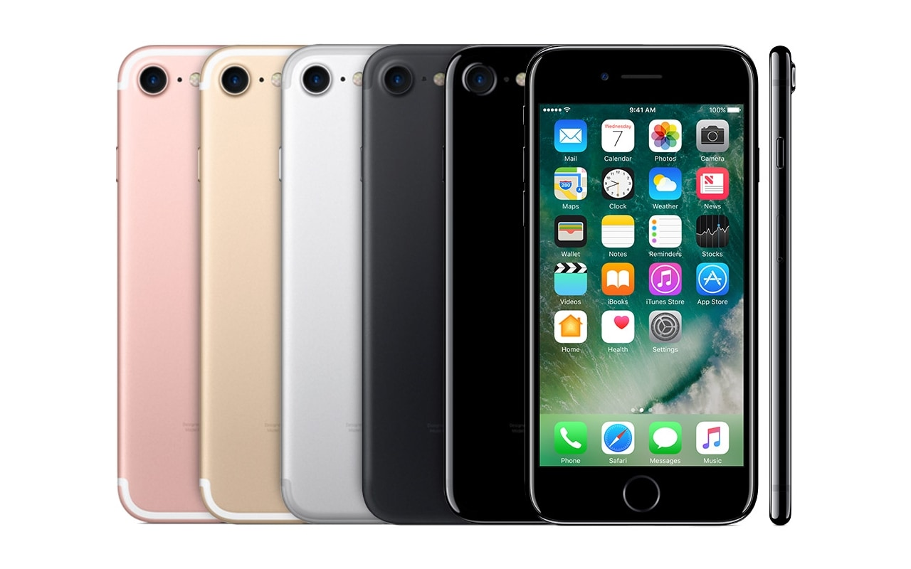 Apple announced the iPhone 7 in September 2016, keeping the release cycle constant. The device changed its design a bit to conceal its antenna bands on the sides rather than running them across the back side of the device. Image: Apple