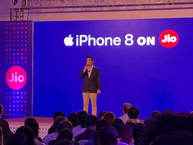 Akash Ambani hosts the Reliance Jio's iPhone 8 launch event