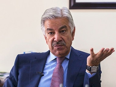File image of Pakistan foreign minister Khawaja Asif. Reuters