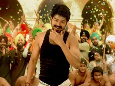 Vijay in a still from Mersal. YouTube screengrab