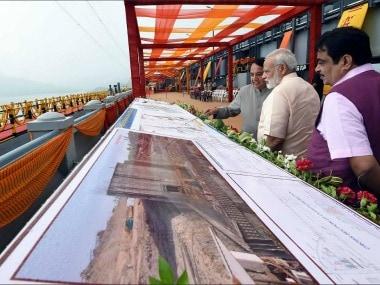 Narendra Modi inaugurates Sardar Sarovar Dam, calls it engineering miracle; rebukes World Bank, activists for stalling work