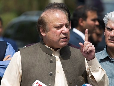 File image of Nawaz Sharif. AP