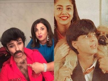 Raveena Tandon's Anil Kapoor act; SRK-Gauri throwback: Social Media Stalkers' Guide