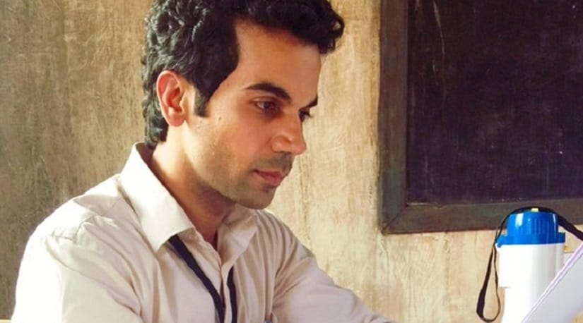 Rajkummar Rao in a still from Newton