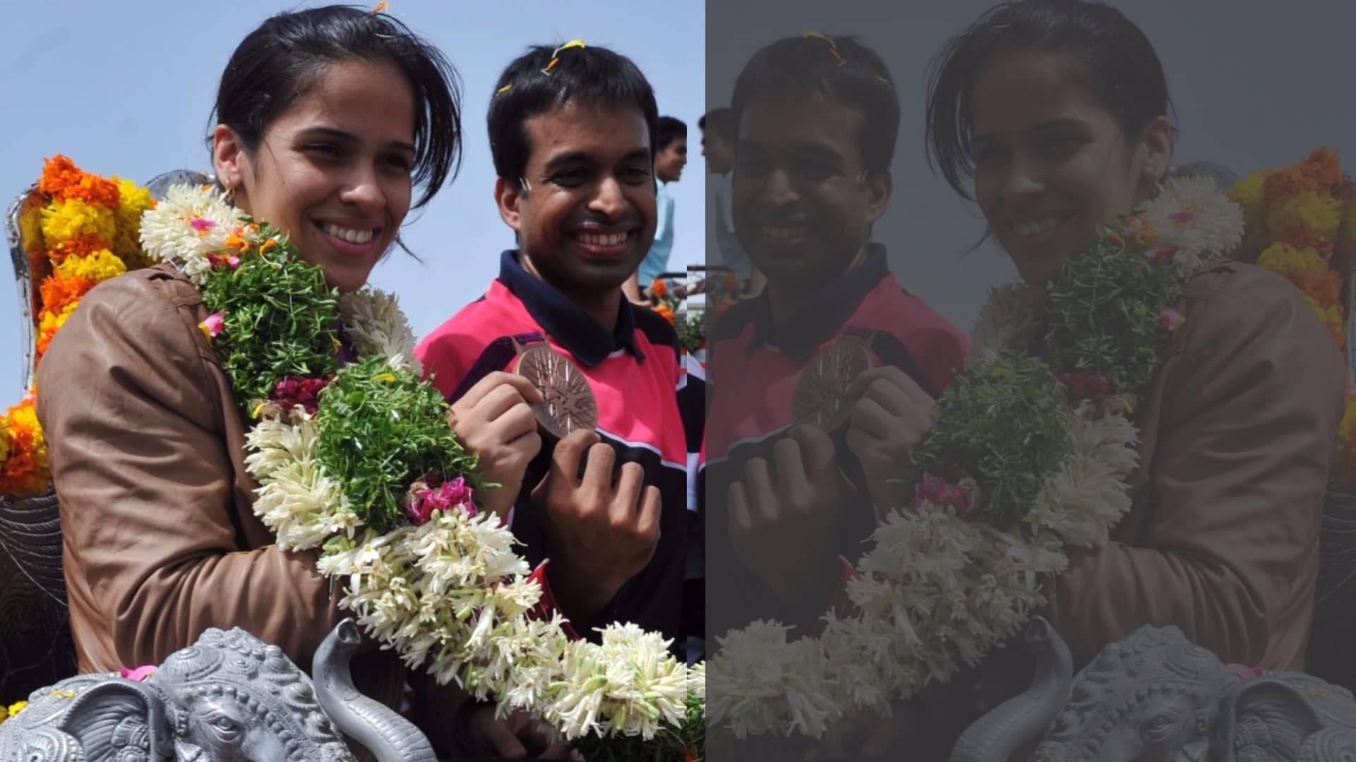 Saina Nehwal's homecoming