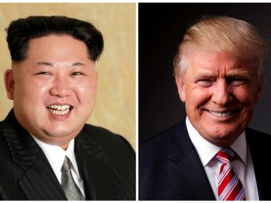 File image of Kim Jong-un and Donald Trump. Reuters