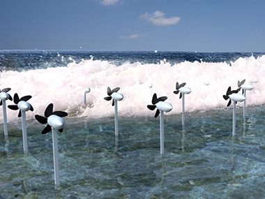 Researchers develop turbine that an produce sustainable electricity from ocean currents
