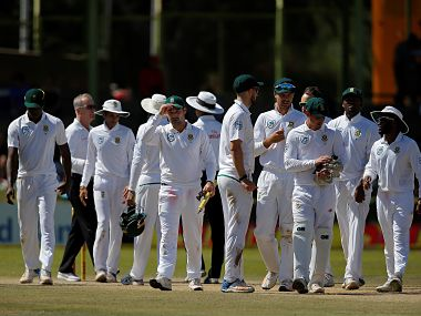 South Africa thrash Bangladesh by an innings an 254-runs to complete the series 2-0 at the end of the third day of the second Test in Bloemfontein. AFP