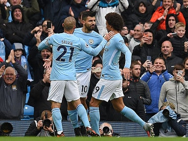 Premier League: Manchester United's shock defeat to Huddersfield lets rivals City move five points clear at top