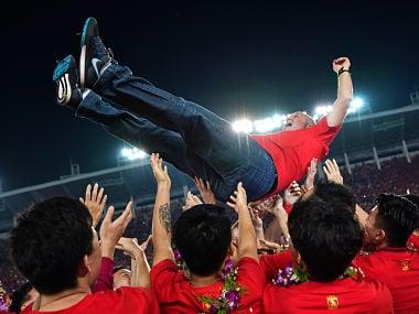 Guangzhou Evergrande record 7th straight Chinese Super League title in coach Luiz Felipe Scolaris farewell season