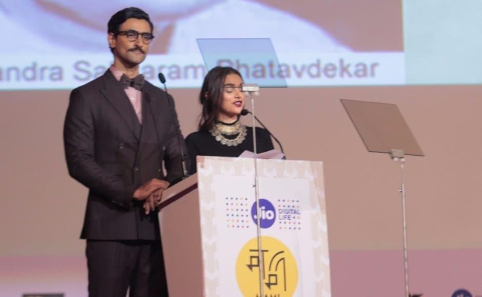 Kunal Kapoor and Aditi Rao Hydari, the hosts for the evening