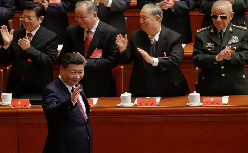 Xi set out his vision as he addressed more than 2,000 delegates in Beijing's cavernous Great Hall of the People, including 91-year-old former president Jiang Zemin. Reuters