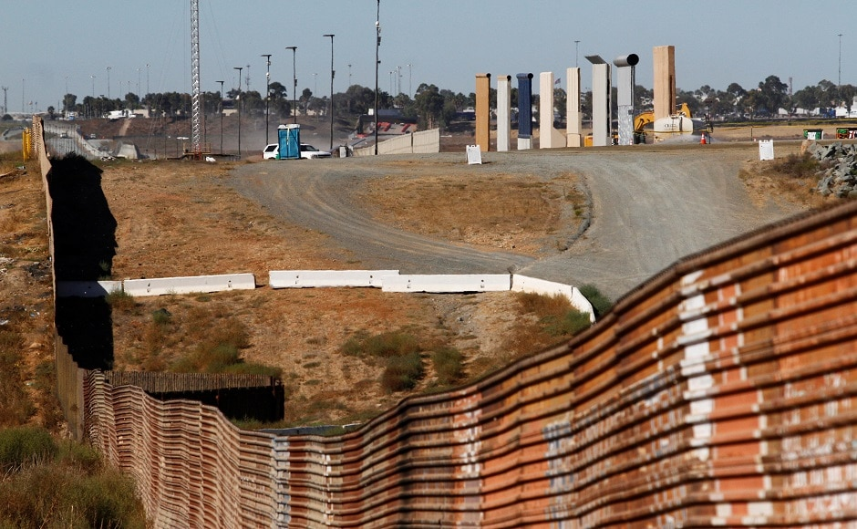 Whether any of the eight different prototypes, constructed over the last month, become part of an actual wall remains highly uncertain. The US Congress has so far shown little interest in appropriating the estimated $21.6 billion it would cost to build the wall. Reuters