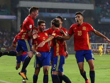 FIFA U-17 World Cup 2017: Spains short passing game downs Mali; sets up final with continental rivals England