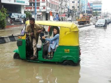 Flooding in Bengaluru. Image courtesy: News18