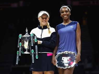 WTA Finals: Caroline Wozniacki beats Venus Williams for first time in eight attempts to claim maiden title