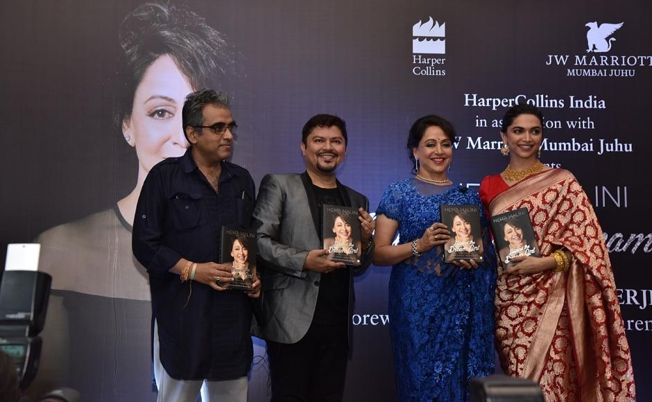 The biography is titled Hema Malini: Beyond the Dream Girl and is written by Ram Kamal Mukherjee.