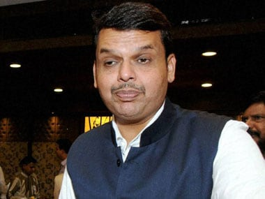 File image of Maharashtra chief minister Devendra Fadnavis. PTI