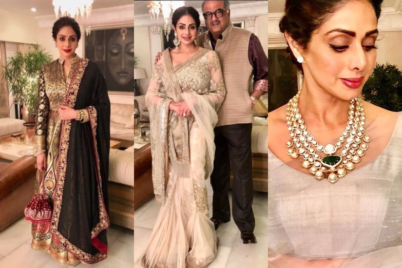 Sridevi. Images from Instagram.