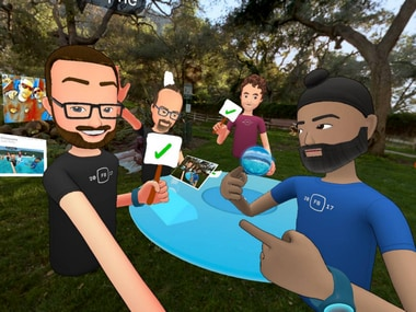 Facebooks VR hangout app Spaces to get new creative and video streaming features