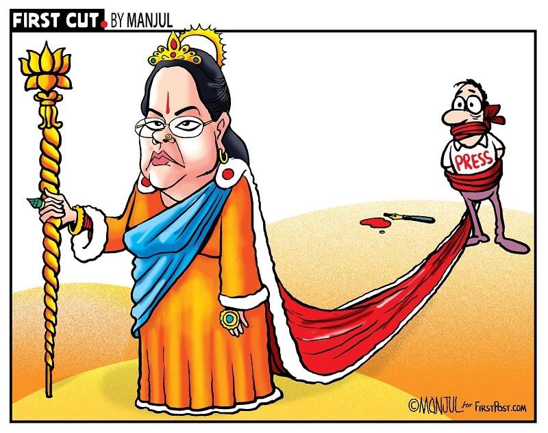 Protests against Rajasthans draconian ordinance forces Vasundhara Raje to rethink gag order: A roundup