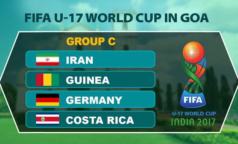 FIFA U-17 World Cup 2017: Germany firm favourites in Group C, but Iran, Costa Rica and Guinea not here to fill numbers
