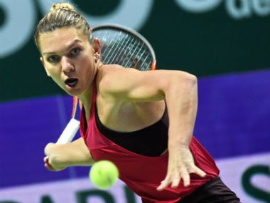 WTA Finals: Simona Halep says she needs to regroup after suffering shock loss to Caroline Wozniacki
