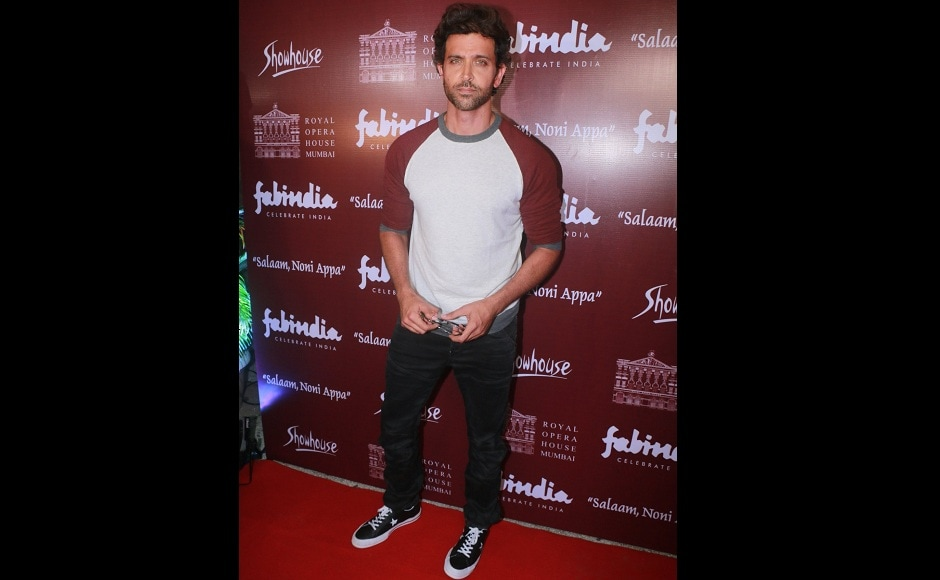 Hrithik Roshan also attended the play, which was held at Royal Opera House, Mumbai.
