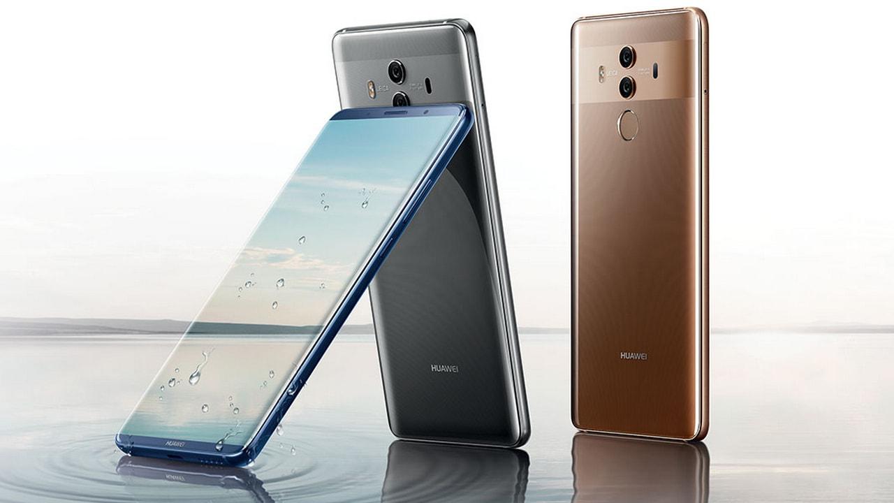 Huawei Mate 10 Pro. Image credit: Huawei