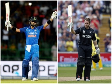 India captain Virat Kohli and New Zealand's Kane Williamson. Reuters