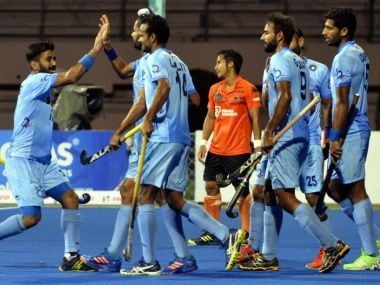 India take on Pakistan in their final secound-round clash on Saturday. Twitter @TheHockeyIndia