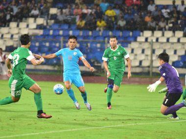 India beat Macau 3-1 in Bengaluru on Wednesday. Twitter @IndianFootball