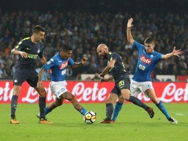 Serie A: Inter Milan end Napolis winning run in goalless draw; Sampdoria crush struggling Crotone